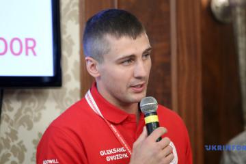 Gvozdyk se convierte en Embajador de Buena Voluntad de la Cruz Roja