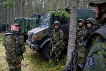 Ejercicios militares de la OTAN con participación de Ucrania comienzan en Estonia