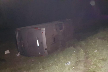 Russland: 15 Ukrainer bei Busunfall verletzt