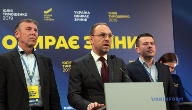 Штаб Тимошенко вимагає від ЦВК назвати остаточну явку виборців