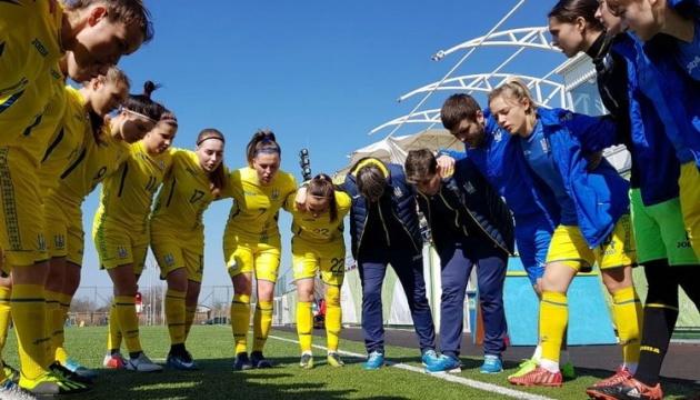 """Футбол: жіноча """"молодіжка"""" провела спаринг перед стартом в еліт-раунді Євро-2019"""
