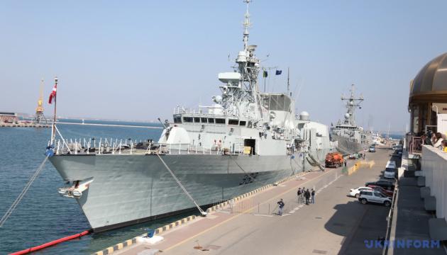 Les frégates « Toronto » et « Santa Maria » de l'OTAN se trouvent déjà dans le port d'Odessa