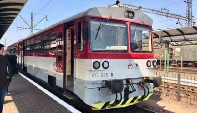 До Мукачева прибув тестовий поїзд із Кошице