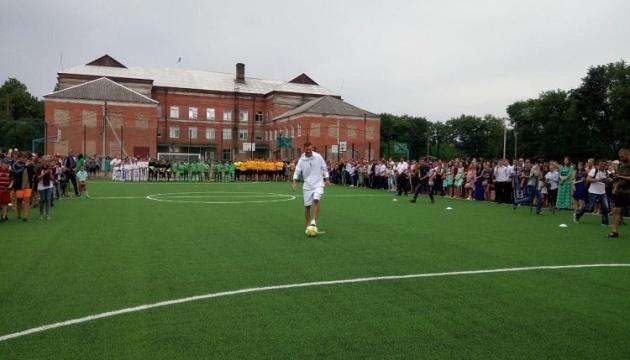 На Кировоградщине за год построили 12 футбольных площадок