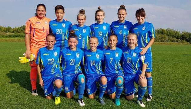 Футбол: жіноча збірна України WU-19 програла Данії на старті еліт-раунду Євро-2019