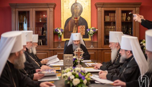 Синод УПЦ МП собрался на заседание в Лавре
