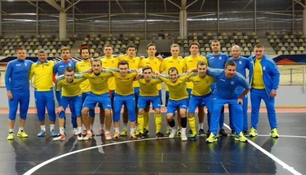 14 футзалістів збірної України візьмуть участь у спарингах із Хорватією