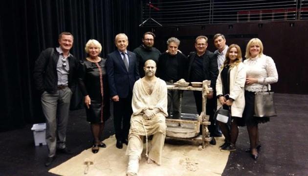 Херсонський театр привіз до Португалії виставу за поемою Лесі Українки