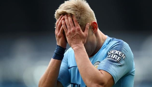 Гвардиола прокомментировал травму украинского футболиста Зинченко
