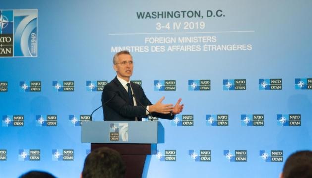 Россия не может указывать, быть ли Украине и Грузии в НАТО – Столтенберг