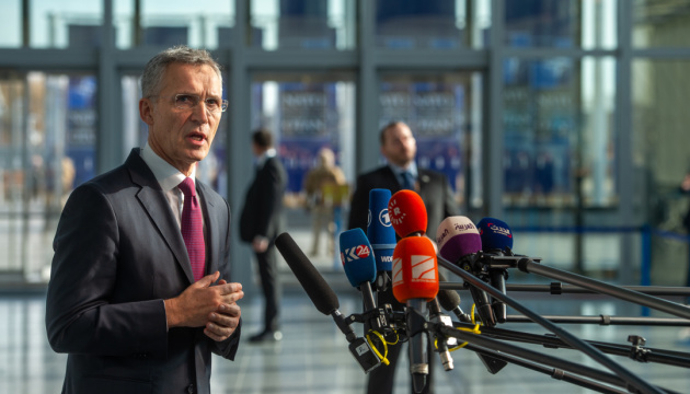 Russia cannot decide whether Ukraine and Georgia can join NATO - Stoltenberg