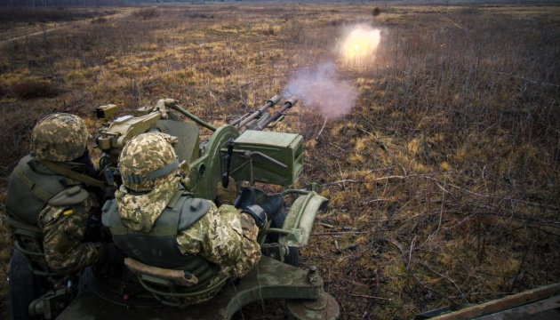 Russian-led forces launch ten attacks on Ukrainian troops in Donbas
