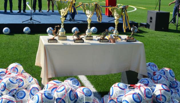 На Закарпатье за год построили 18 футбольных полей и площадок