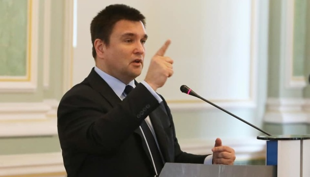 Parliament fails to dismiss Pavlo Klimkin for second time