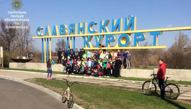 У Слов'янську відбувся масовий легкоатлетичний забіг до Дня здоров'я