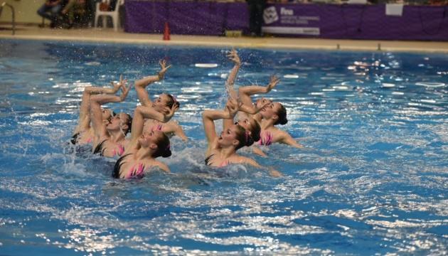 Збірна України з артистичного плавання виграла два «золота» на етапі Світової серії в Греції