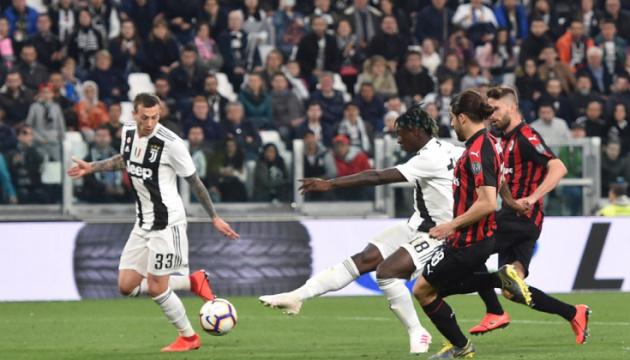 Серія А: «Ювентус» здобув вольову перемогу над «Міланом»