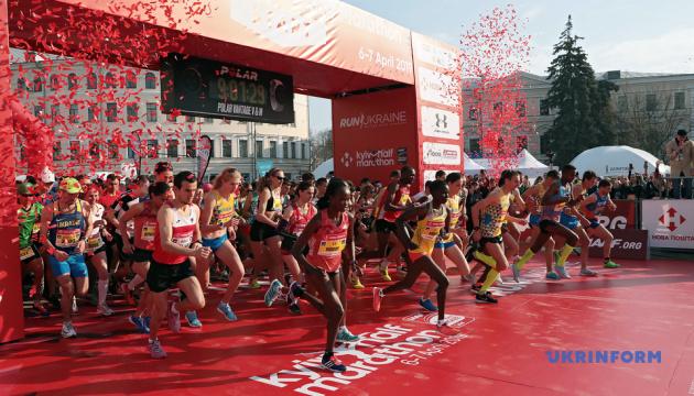Международный киевский полумарафон выиграли кенийцы