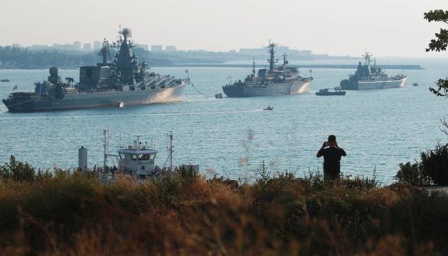 Росія вивела кораблі у Чорне море через масштабні навчання НАТО