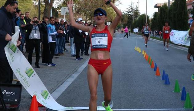 """Інна Кашина завоювала """"срібло"""" на змаганнях зі спортивної ходьби в Португалії"""