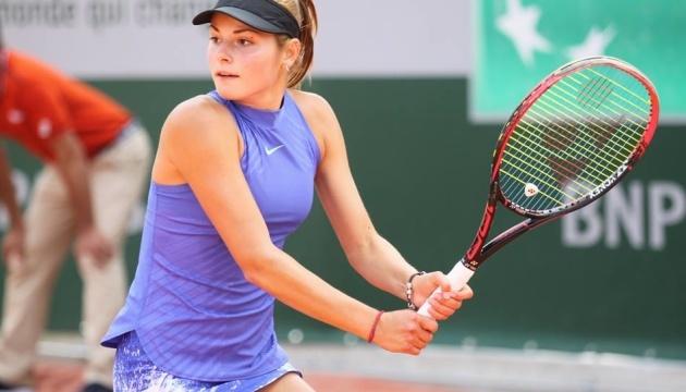 Українка Завацька програла у першому колі турніру WTA в Лугано