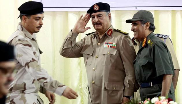 Хафтар узяв дві доби на ухвалення рішення про припинення вогню у Лівії