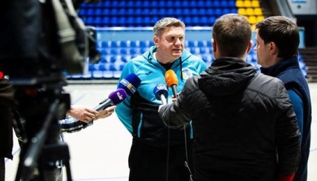 Сергій Бебешко: Завдання українських гандболістів - вийти на чемпіонат Європи
