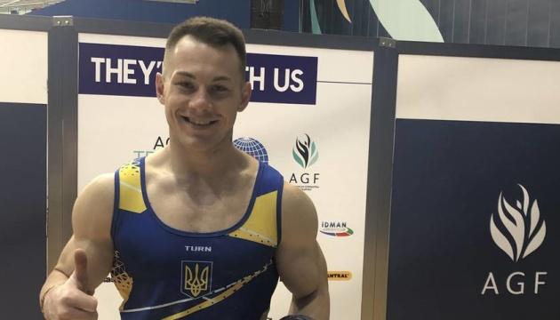 Украинские гимнасты Радивилов, Верняев и Пахнюк вышли в финалы чемпионата Европы