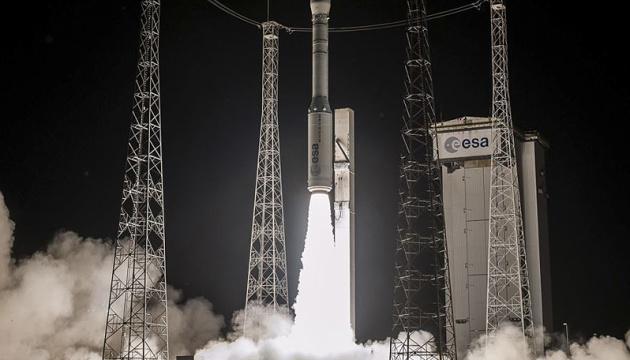 Rakieta klasy Vega z ukraińskim silnikiem została wystrzelona w kosmos