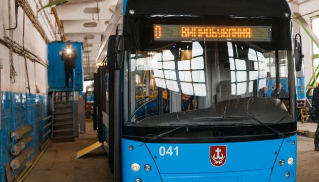 В Виннице начали производство троллейбусов