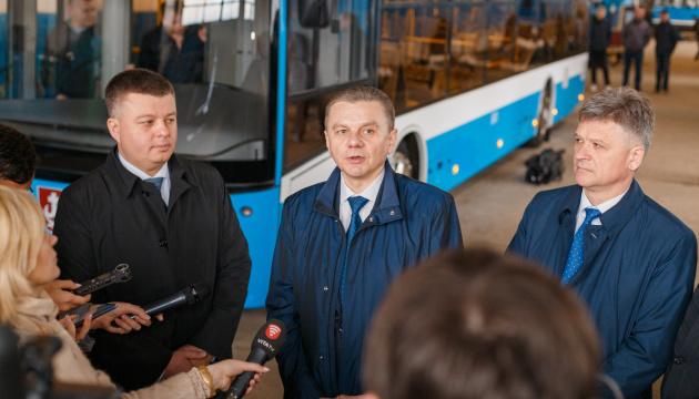 824d2eb5c76240 У Вінниці почали виробляти власні тролейбуси