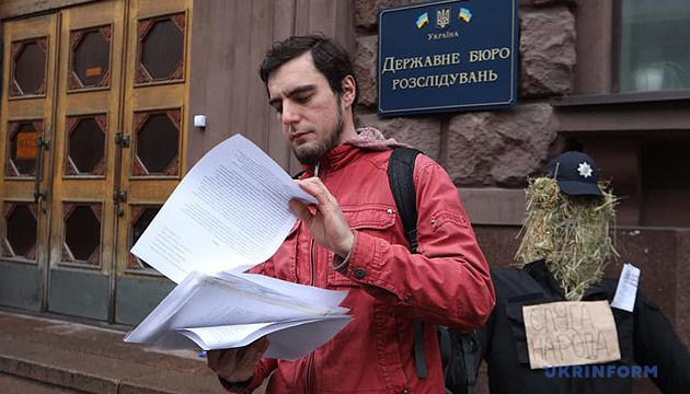 Поліція пояснила, у чому провина активіста Овчаренка
