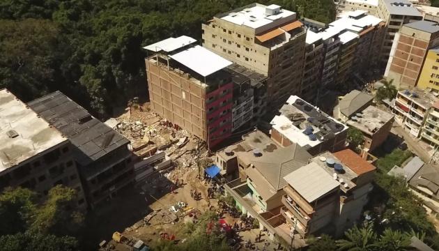 Обвалення будинків у Ріо-де-Жанейро: загинули вісім осіб, ще 16 зникли