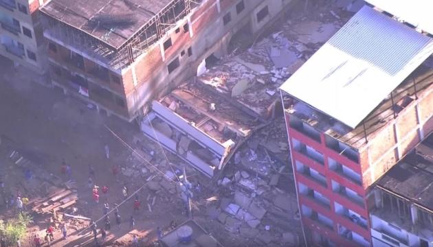 У Ріо-де-Жанейро обвалилися багатоповерхівки: є загиблі