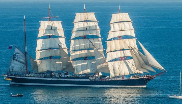 Польша не впустила в свои воды российский парусник из-за крымчан на борту
