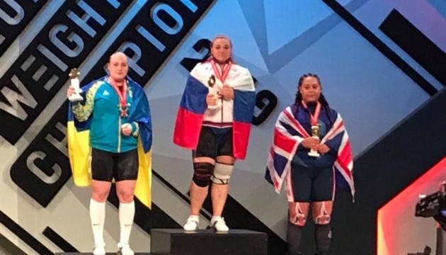 Анастасія Лисенко виборола «срібло» на чемпіонаті Європи з важкої атлетики