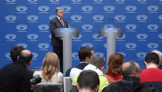 Порошенко: На бордах стверджується одне - ми не дамо Путіну шансів на успіх