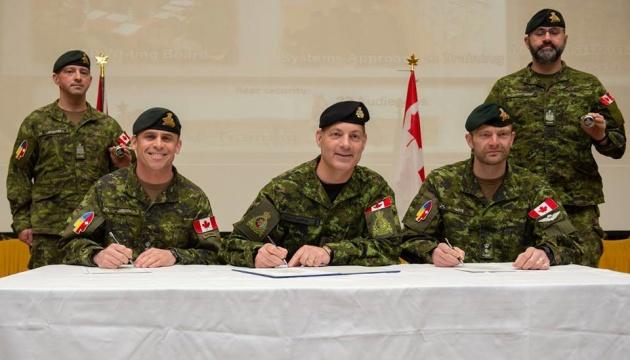 Канада провела ротацію своїх військових в Україні