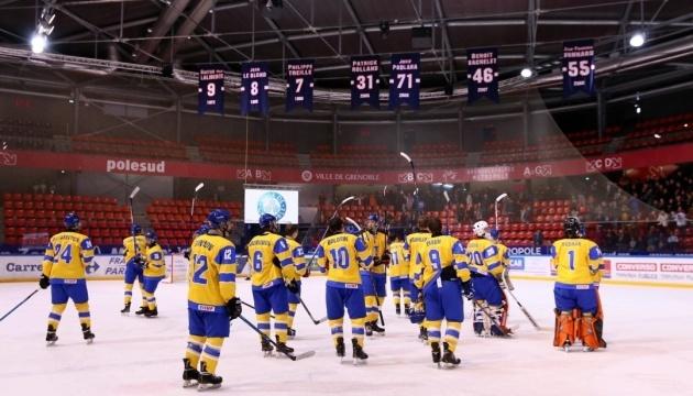 Юніорська збірна України з хокею стартувала на чемпіонаті світу у Дивізіоні 1А
