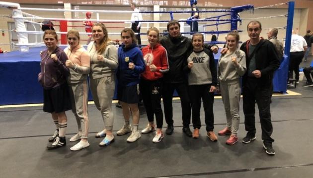 Жіноча збірна України з боксу здобула 9 нагород на міжнародному турнір в Польщі