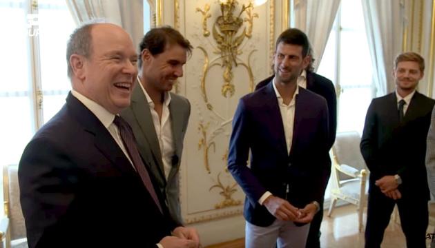 Джокович та ще 10 учасників турніру ATP в Монте-Карло зустрілися з князем Монако