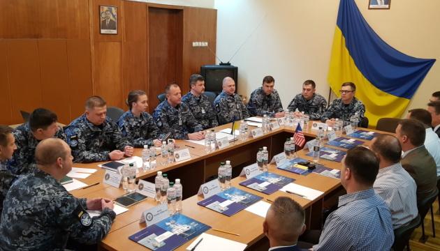 Командири ВМС розповіли американцям про реформу українського флоту