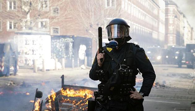 У Данії після протестів ультраправих затримали 23 осіб