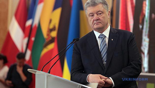 Poroshenko wins in overseas electoral district