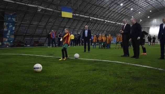 На Полтавщині за рік побудували 18 футбольних майданчиків