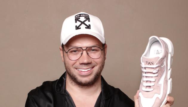Андре Тан представив першу колекцію дитячого взуття