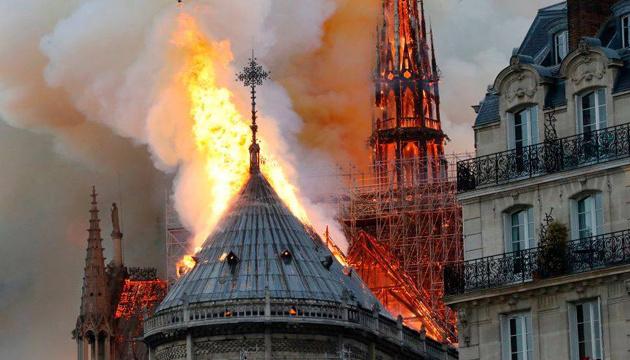 Ukrainian diplomats express support for France over Notre Dame fire