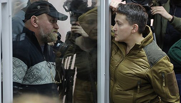 Savchenko, Ruban released from custody in courtroom