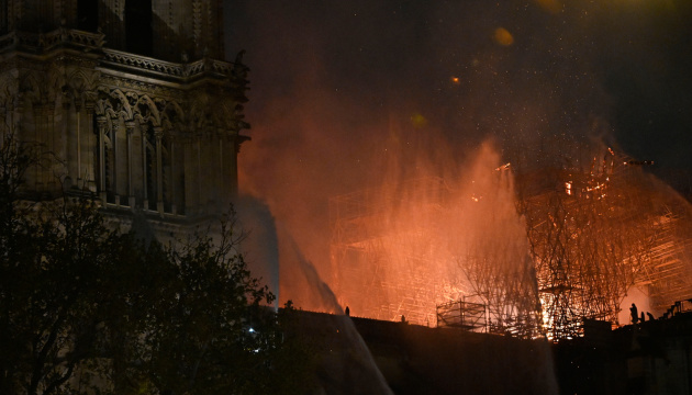 Ukraine ready to help restore Notre-Dame Cathedral
