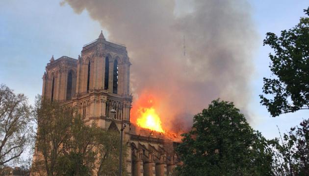 Пожежа у Нотр-Дамі: країни Європи висловлюють співчуття